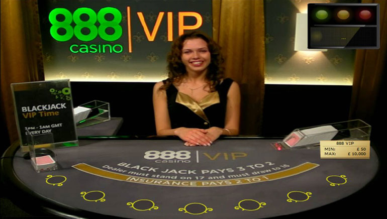 888 Casino Radar Upp Live Dealer Spel