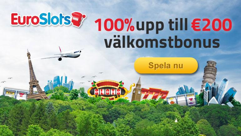 EuroSlots ger ut bonuserbjudanden då vi lanserar nya spel