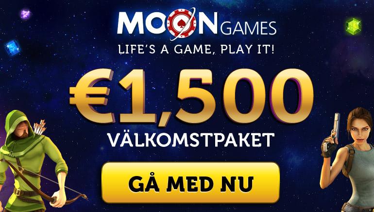 Moon Games Casino erbjuder generösa kampanjer