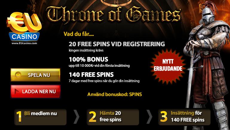 Throne of Games – Den hetaste spelautomat-kampanjen som alla pratar om