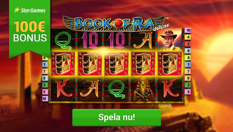 Spela Book Of Ra på StarGames med en Fantastisk €100 Bonus