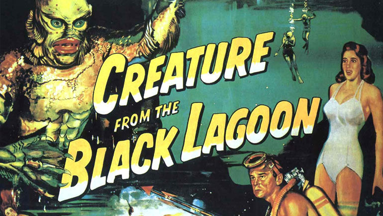"Spela ""Creature From the Black Lagoon"" hos Cherry Casino!"
