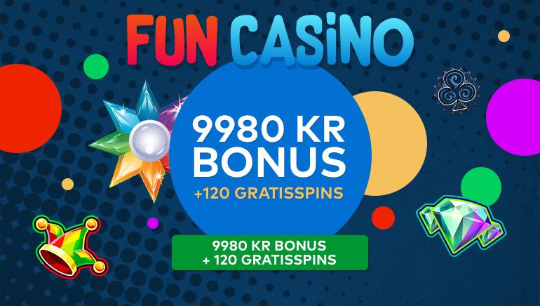 Fun Casino välkomnar spelare med en rejäl välkomstbonus
