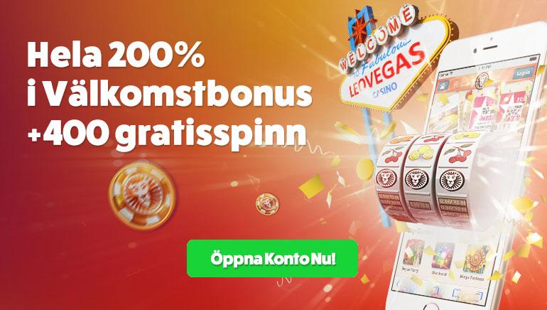 Uttöka ditt Välkomnande på LeoVegas Casino
