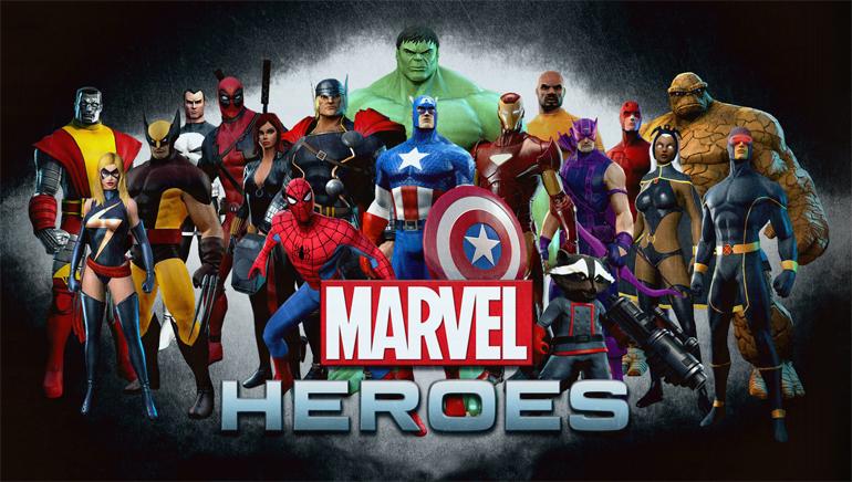 Spela med Marvel hjältarna på online casinot