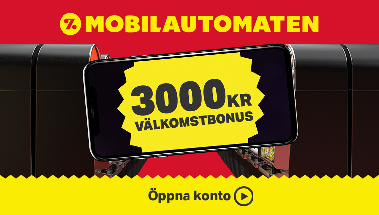 Mobilautomaten Sweden July 2nd 2018 live