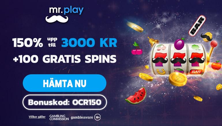 Hävda ett exklusivt erbjudande på Mr.play Casino