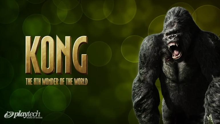 King Kong får liv på Online- casinon