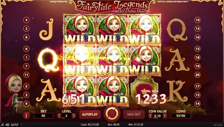 Ny Fairytales Legends spelautomat av NetEnt tillgänglig hos Karamba Casino