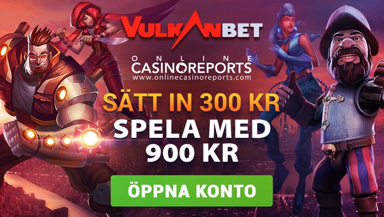 200% Bonus på VulkanBet - En Explosion av Gratis Pengar!