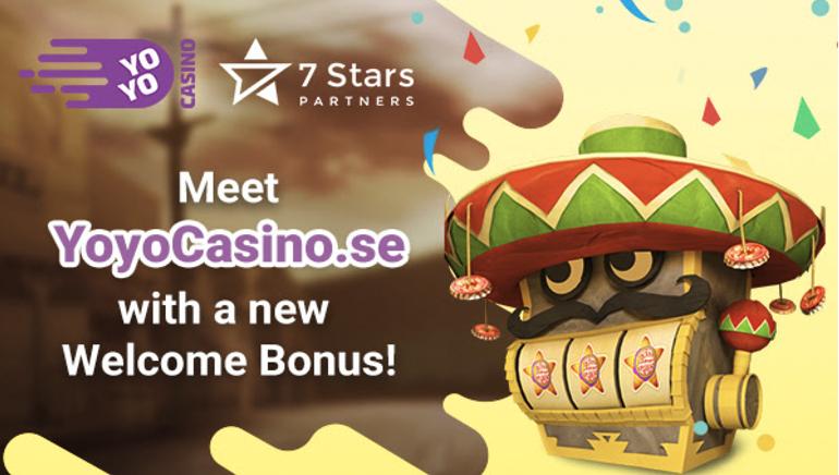 Ta del av det nya bonuserbjudandet hos YoYo casino
